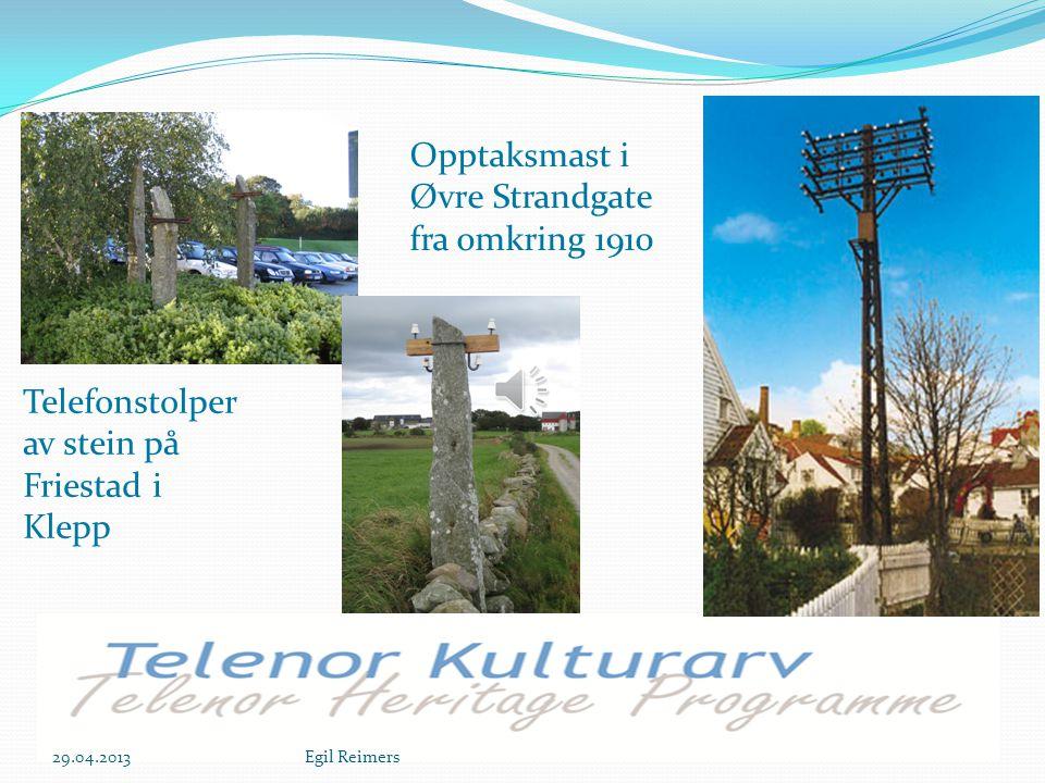 Teppeantenner Rogaland radio Trådløs kommunikasjon er ikke så veldig trådløs 29.04.2013Egil Reimers