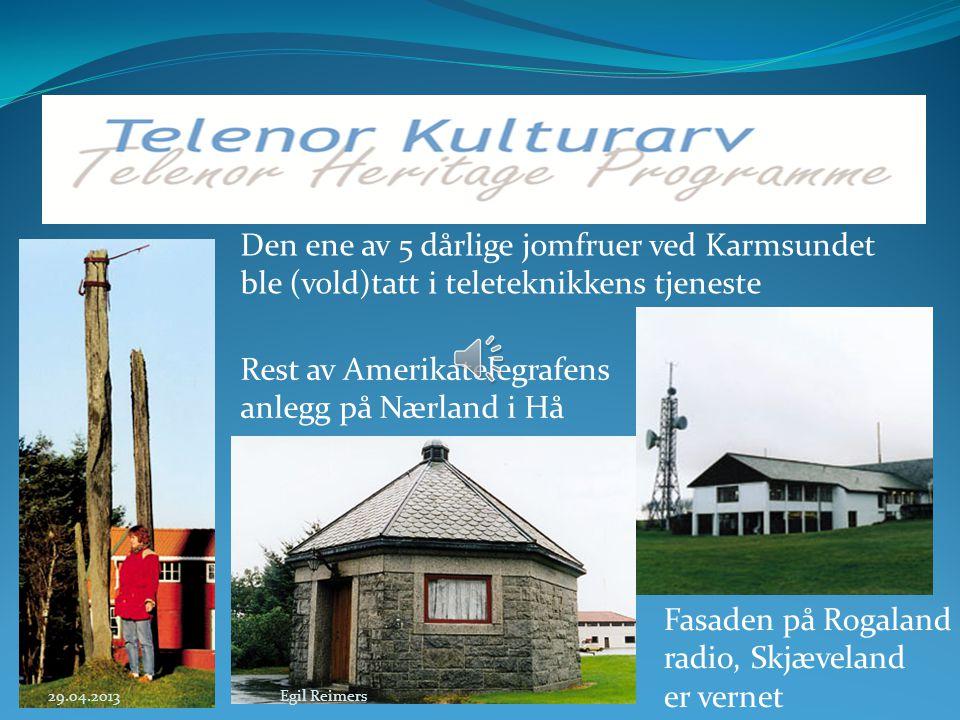 Den røde telefonkiosken har fått mest oppmerksomhet «Verdens nordligste radiostasjon» Ny-Ålesund radio 29.04.2013Egil Reimers