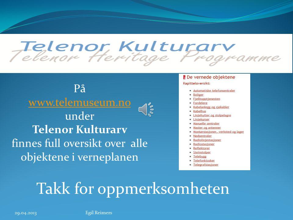 Bergen radio, Rundemanen fra 1912 29.04.2013Egil Reimers