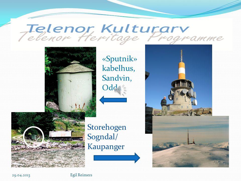 S Storehogen Sogndal/ Kaupanger «Sputnik» kabelhus, Sandvin, Odda 29.04.2013Egil Reimers