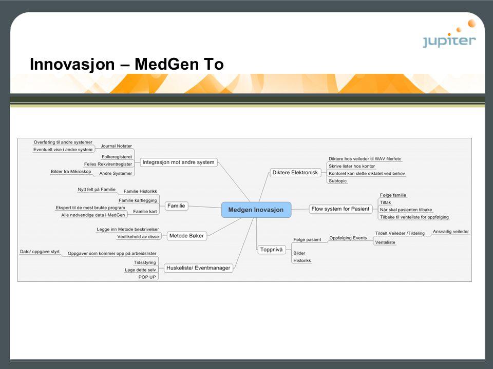 Innovasjon – MedGen To