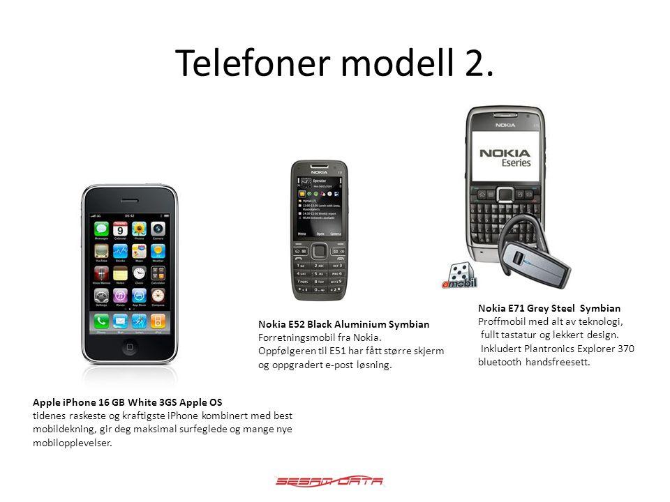 Telefoner modell 3.