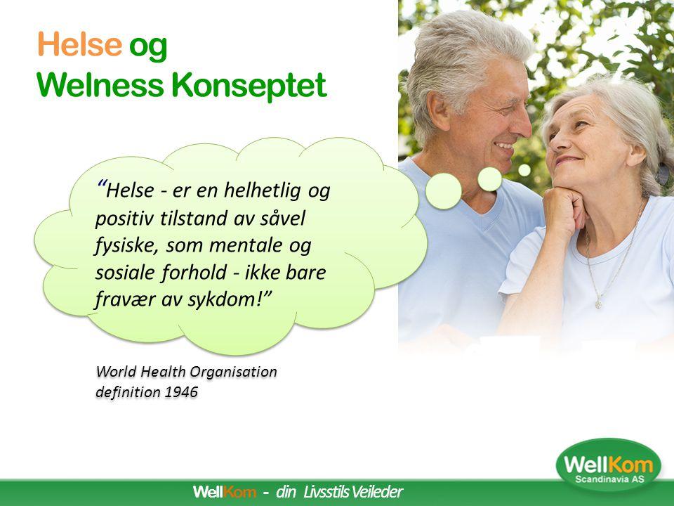 Personlig Wellness Mål (the Illness-Wellness Continuum is based on the work of Dr. John Travis) HØY GRAD TILFREDSHET SVÆRT LAV GRAD AV TILFREDSHET ( U