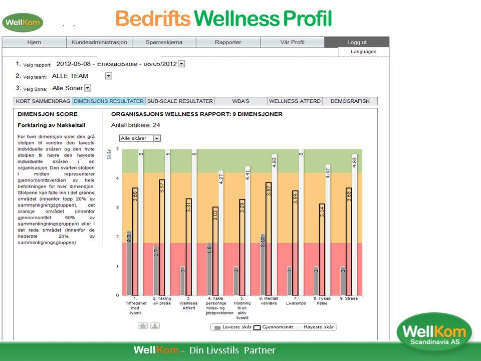 Personlig Wellness Profil (PWP) 1.Personlig Wellness Profil (PWP) er en personlig profil som gir grunnlag for å lære mer om deg selv og bidra til å en
