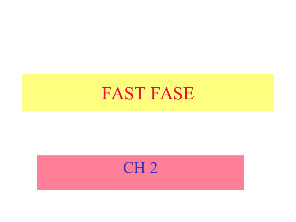 FAST FASE CH 2