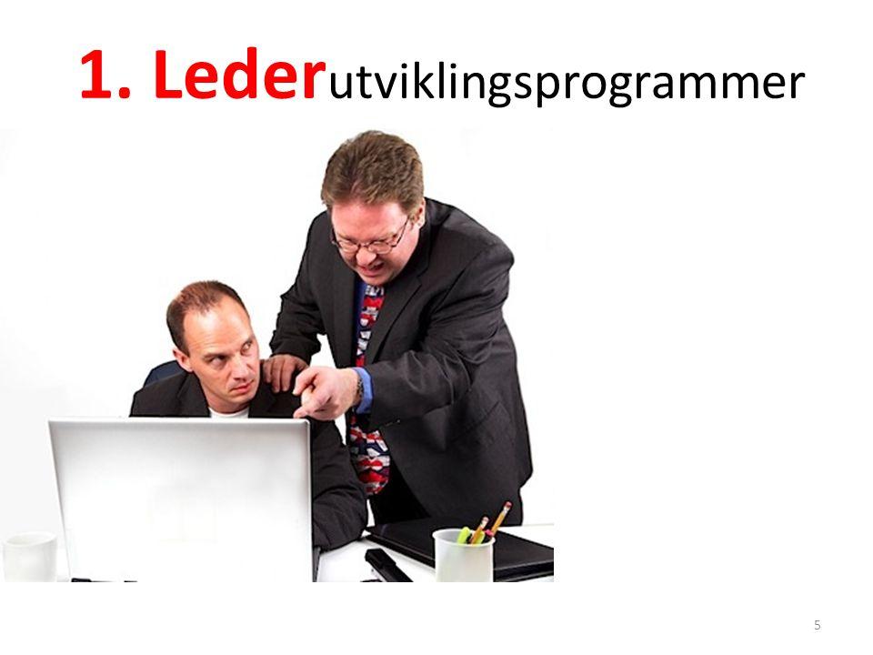 1. Leder utviklingsprogrammer 5