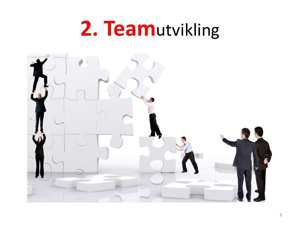 2. Team utvikling 6