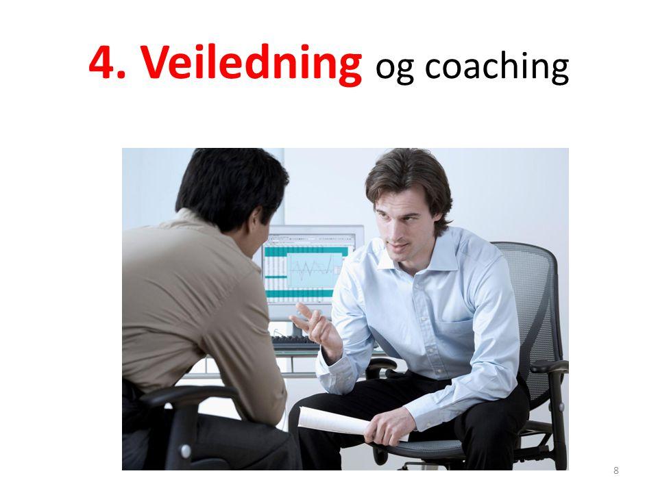 4. Veiledning og coaching 8