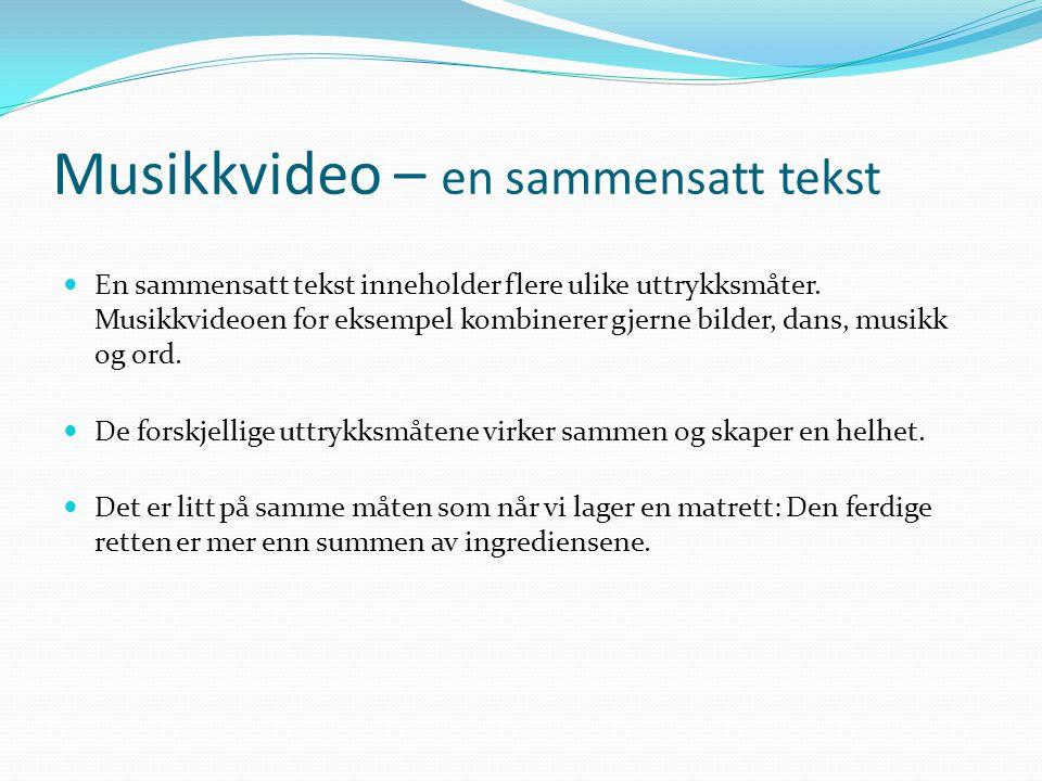 Reklame ( http://www.reklamefilmer.com/ ) http://www.reklamefilmer.com/  Reklame som et eksempel på en sammensatt tekst:  Når en vare skal selges, s