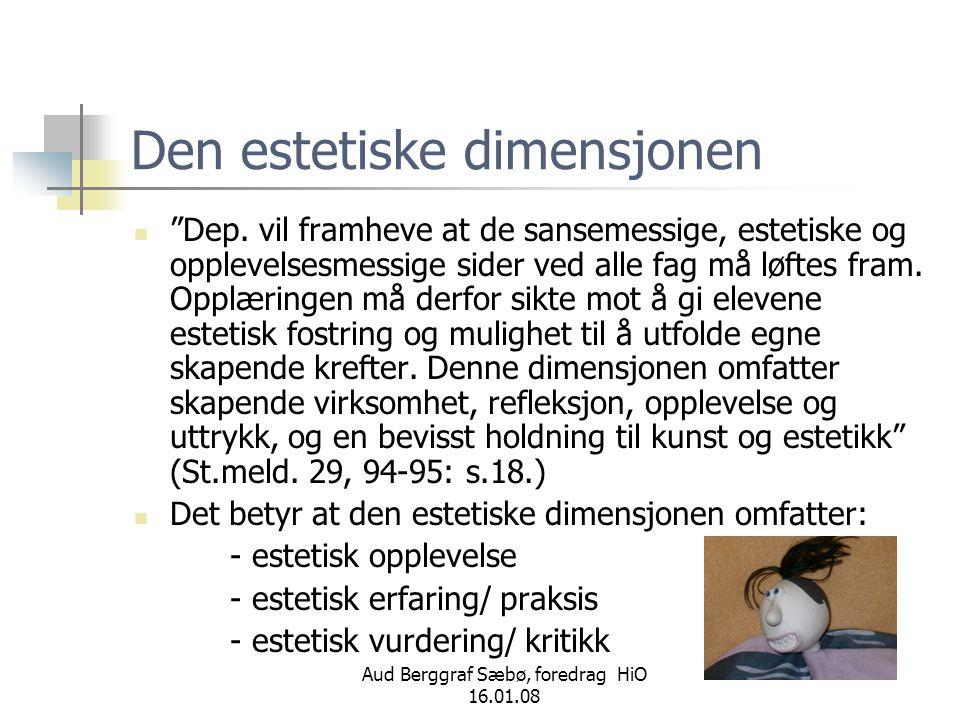 Aud Berggraf Sæbø, foredrag HiO 16.01.08 Hvem finner nøkkelen til suksess.