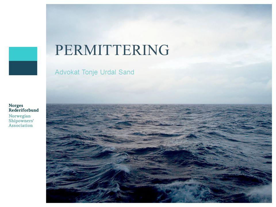 PERMITTERING Advokat Tonje Urdal Sand
