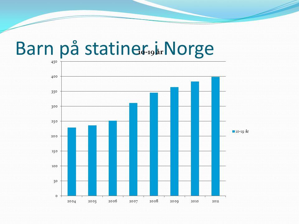 Barn på statiner i Norge