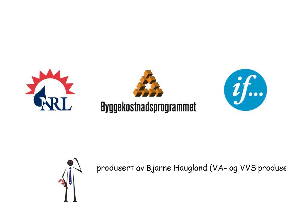 produsert av Bjarne Haugland (VA- og VVS produsentene - VVP) 2007