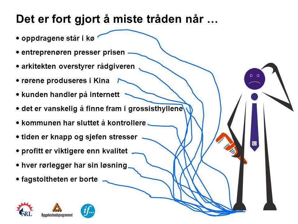 Vann på avveier – en bransjeutfordring Innledning ved Nordisk Vannskadeseminar 2007 i Ystad v/prosjektleder Evy Aker, Norske Rørleggerbedrifters Landsforening - VVS