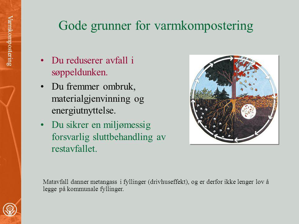Varmkompostering av Kari Schøyen