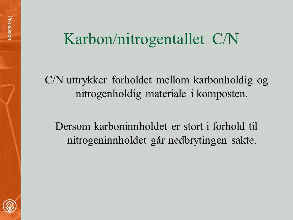 Aerobe og anaerobe bakterier Prosessen •Komposten må være porøs for at luft kan trenge igjennom. •Dersom komposten er tett og luftfattig blir oksygen-