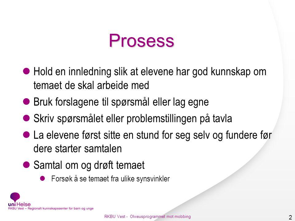 Venner Foto: colourbox RKBU Vest - Olweusprogrammet mot mobbing 3