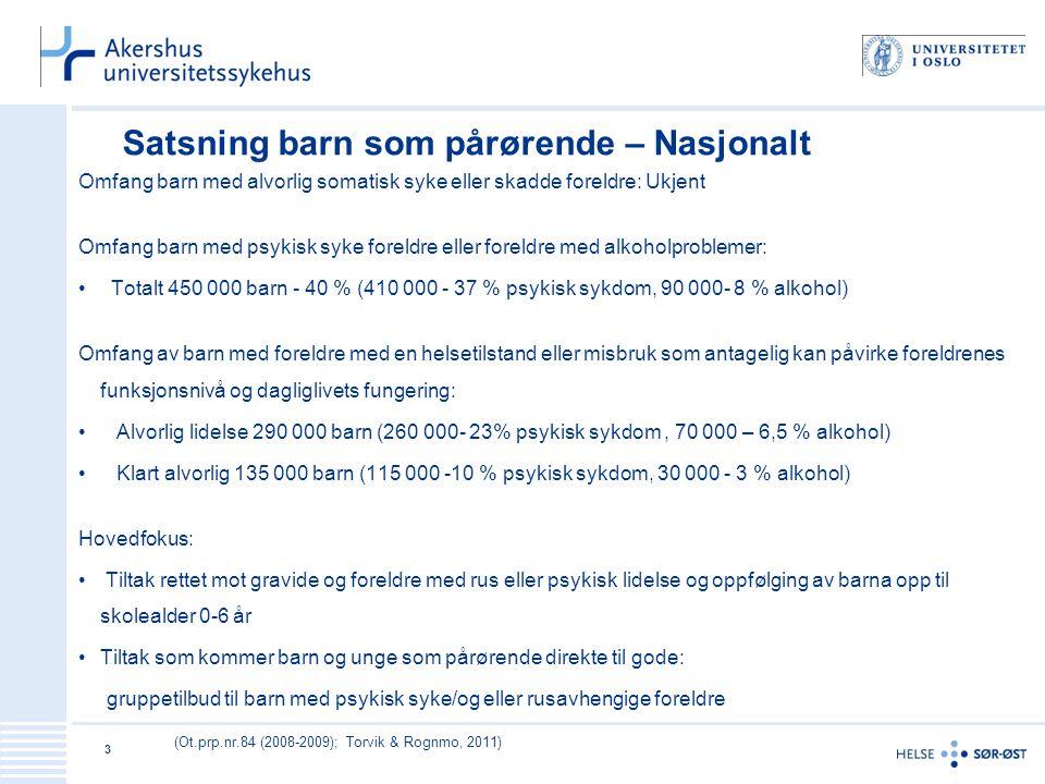 Hvorfor se den norske satsningen i et internasjonalt perspektiv.