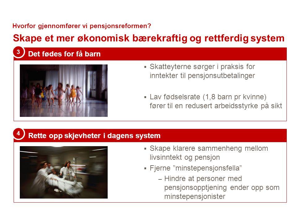  Bestemmelser om levealderjustering.