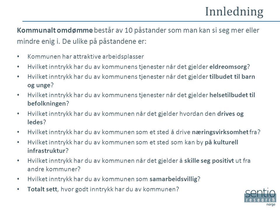 Utvalget •Utvalget består av beslutningstakere som har et forhold til kommuner på Nordmøre.