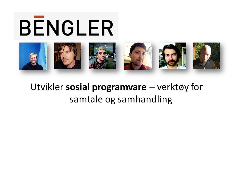 Utvikler sosial programvare – verktøy for samtale og samhandling
