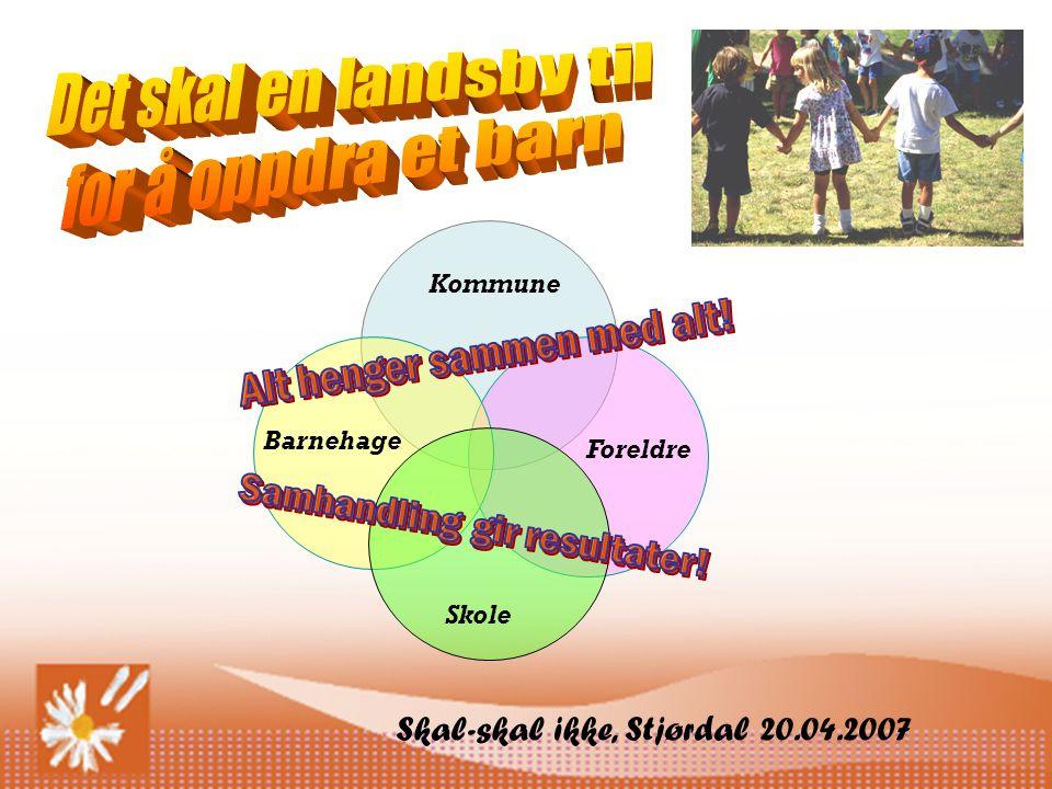 Kommune Barnehage Skole Foreldre