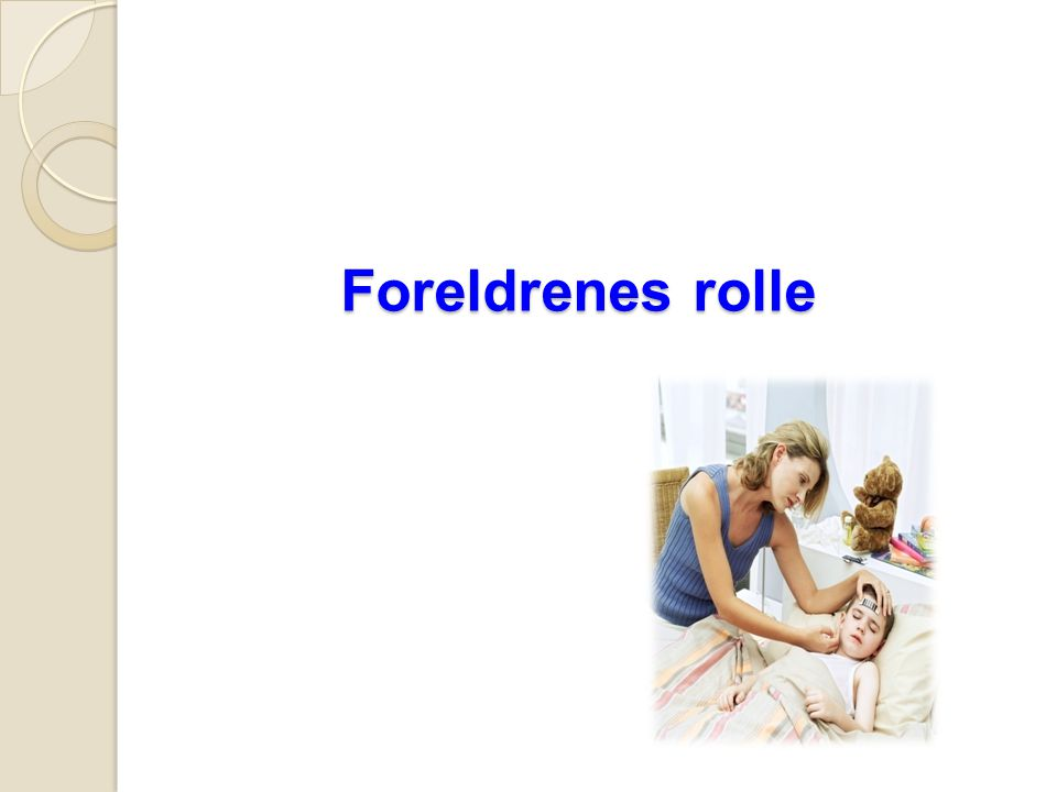 Foreldrenes rolle