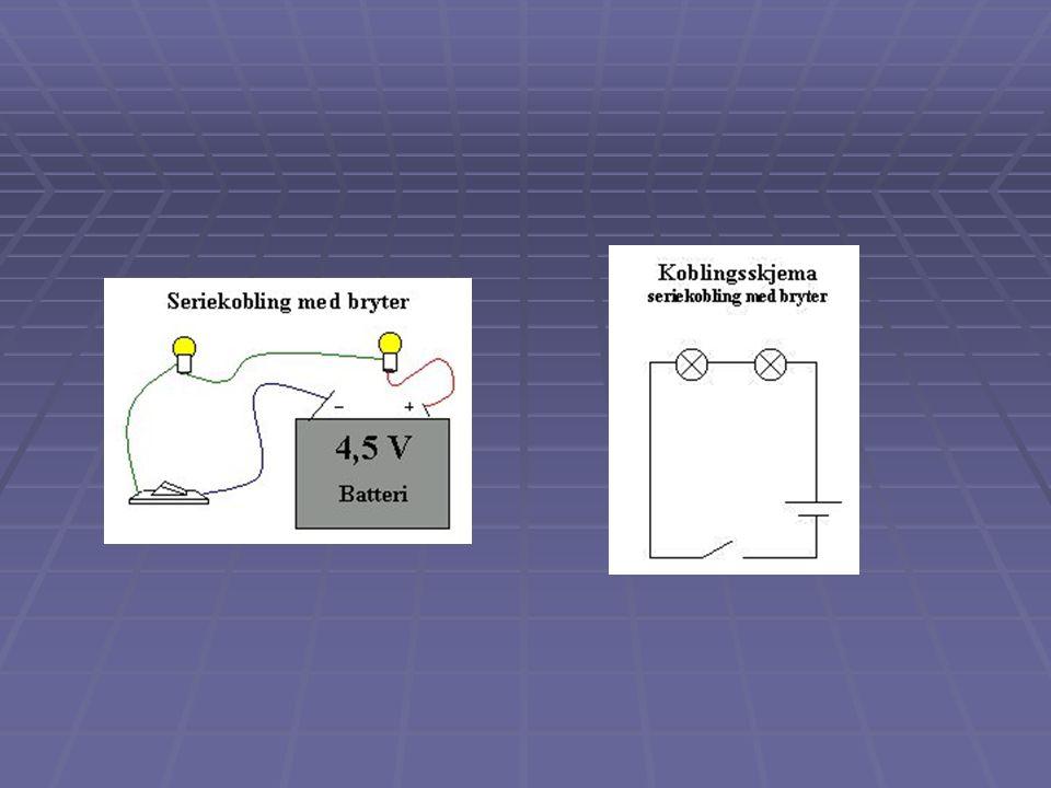 Måling av strøm og spenning (Se Tellus 9 s.