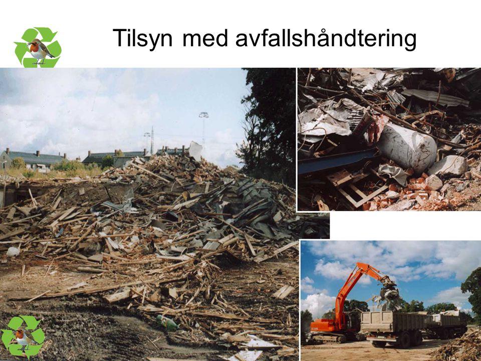 Kurs utarbeidet av nettverket for Nasjonal handlingsplan for bygg- og anleggsavfall Tilsyn med avfallshåndtering