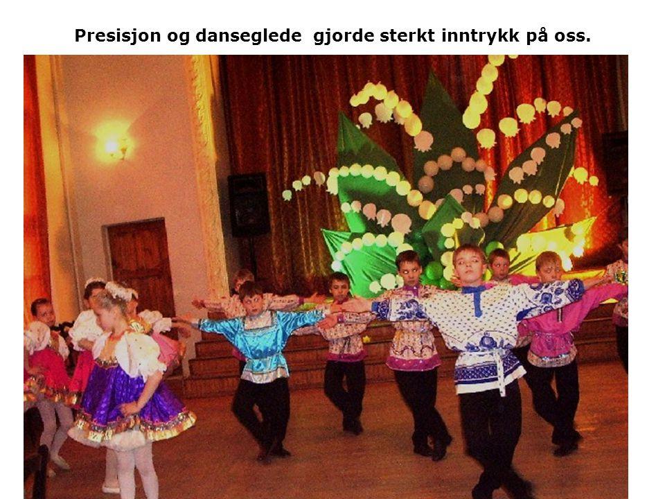 Presisjon og danseglede gjorde sterkt inntrykk på oss.