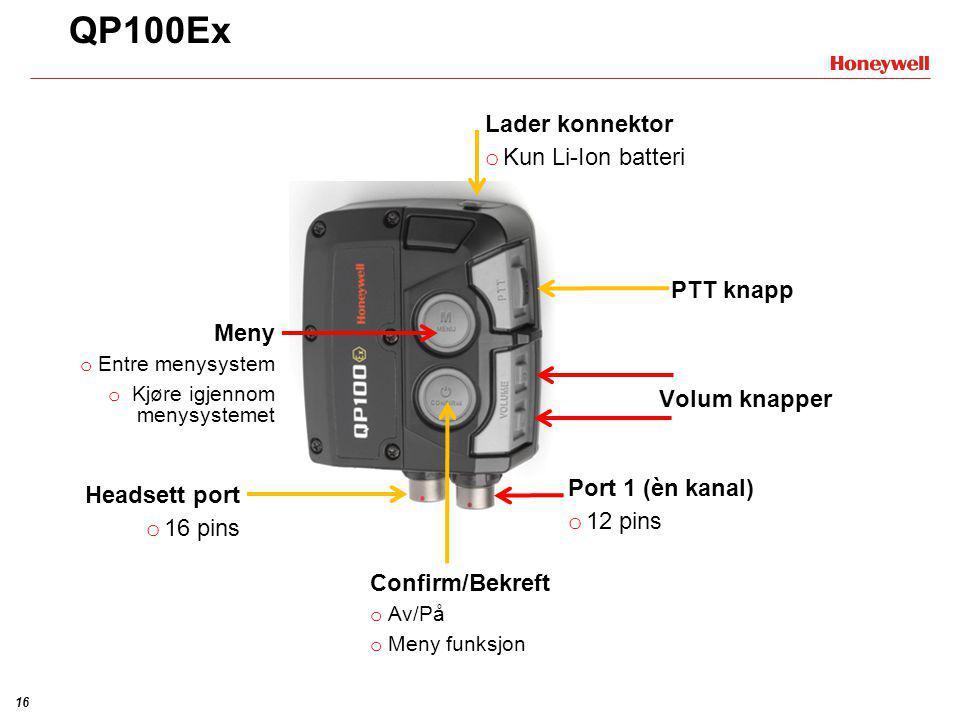 15 Et enkelt prinsipp – Avansert elektronikk Støydempning: •Ubeskyttet øre (rød) •Passiv støydempning (gul) •Passiv og aktiv støydempning/ motlyd (grø