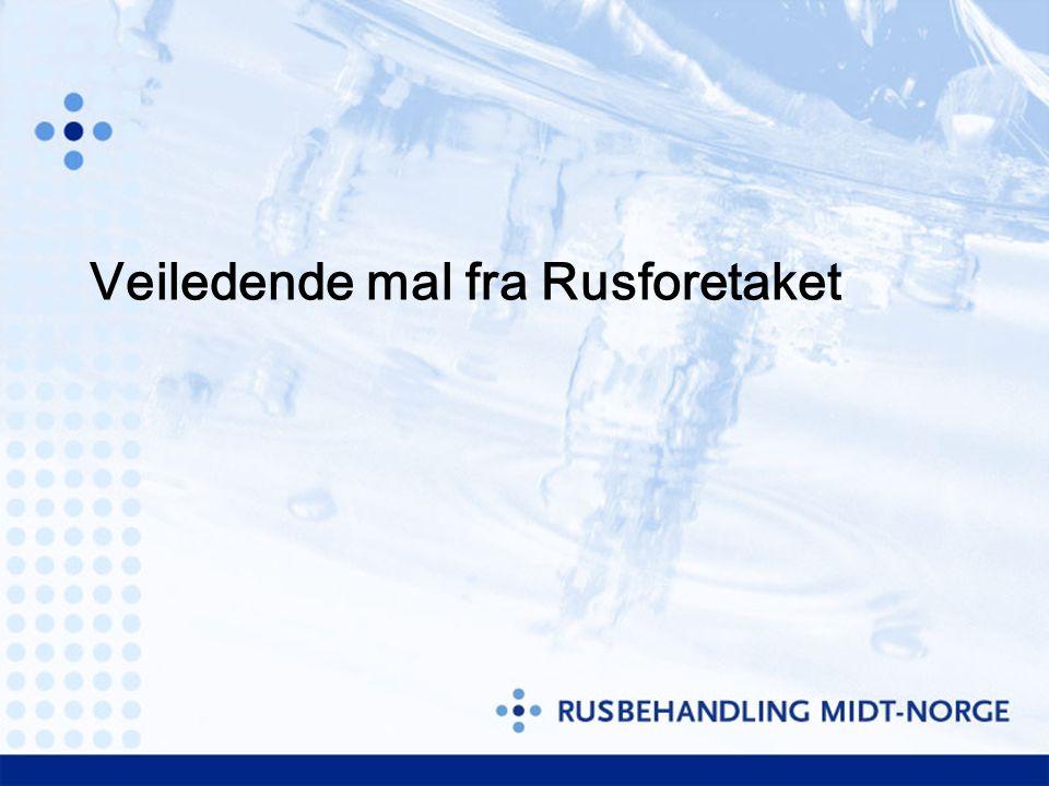 Viktigste problemstilling for å nå kravet om 80% utsendte epikriser innen 7 dager Tyrili Vestmo BS Veksthuset MNK-rus Kvamsgrind Lade BS LAR-Midt Nidaroskl ARP Rusadm
