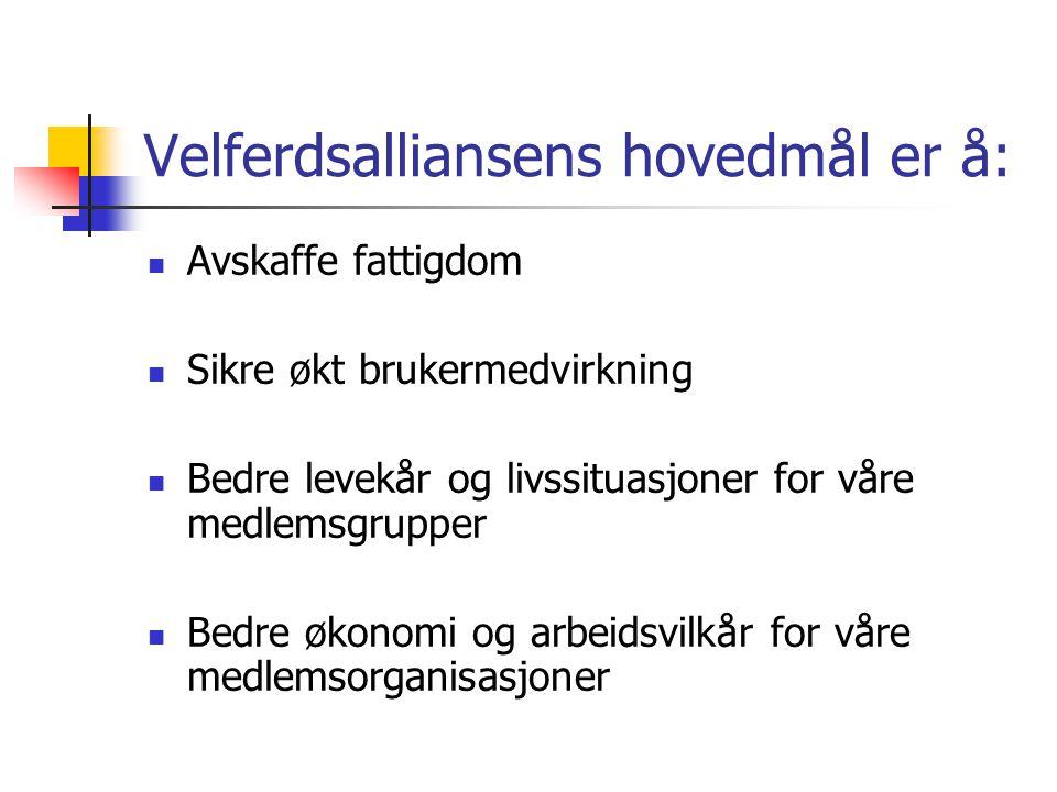 Brukerforum:  I Norge er det brukerfora på fylkesnivå og direktoratsnivå  I Sverige er det etablert fora helt opp til departement – og ministernivå  Nettverk av brukerorganisasjoner i Sverige, Danmark og Finland er medlemmer av EAPN