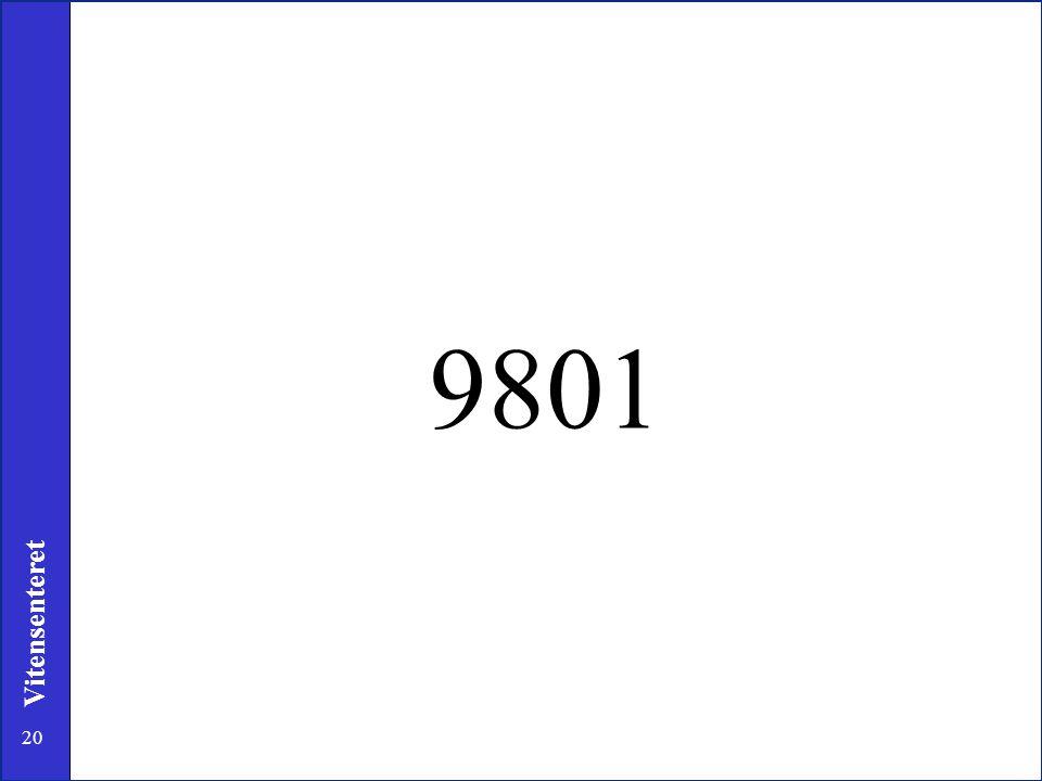 20 Vitensenteret 9801