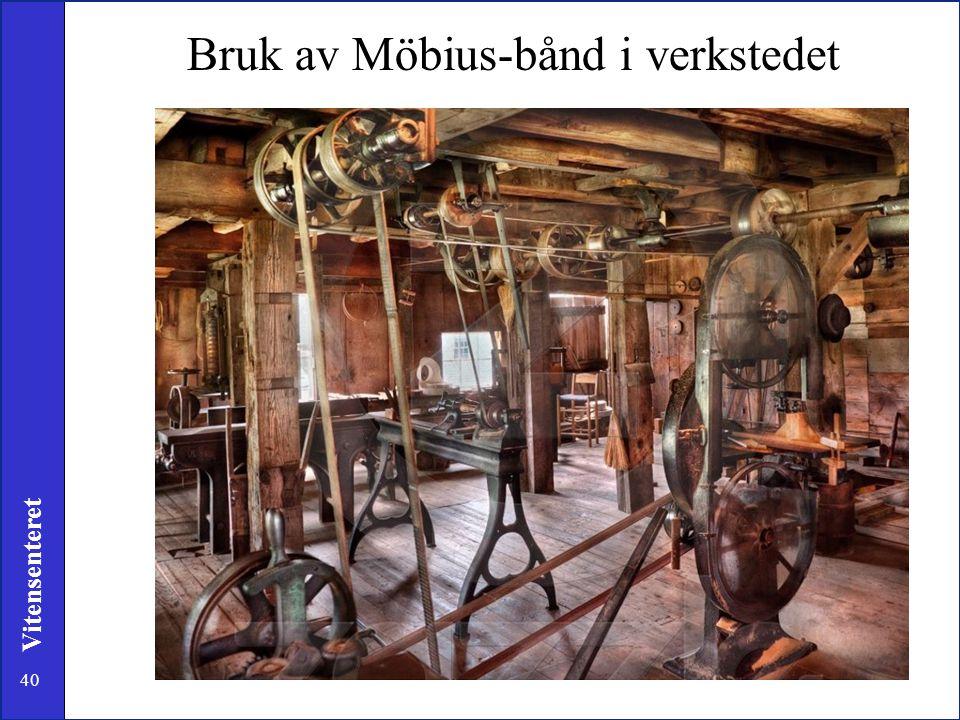 40 Vitensenteret Bruk av Möbius-bånd i verkstedet