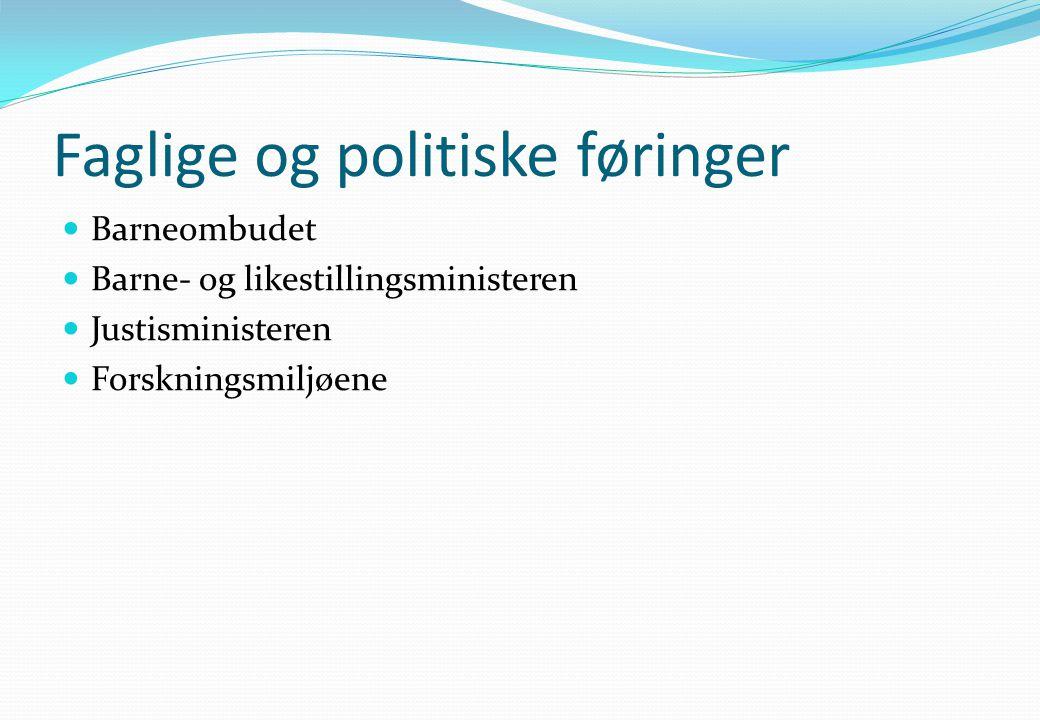 Barnevernet Tverrfaglig samarbeid  Landsomfattende tilsyn 2008  Ny revidert barnevernlov 2009  Veileder på samarbeid barnevern – barnehager.
