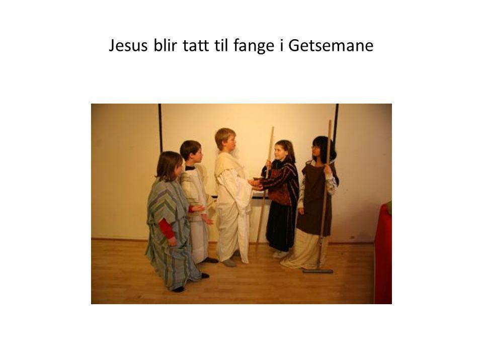 Jesus blir tatt til fange i Getsemane