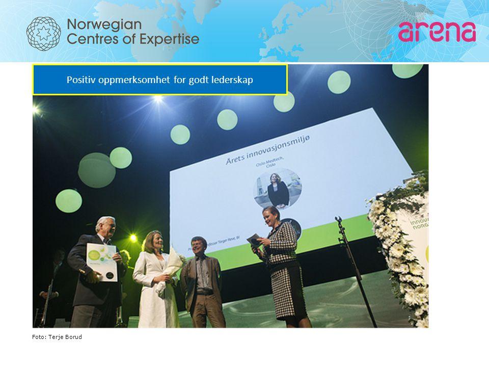 Positiv oppmerksomhet for godt lederskap Foto: Terje Borud