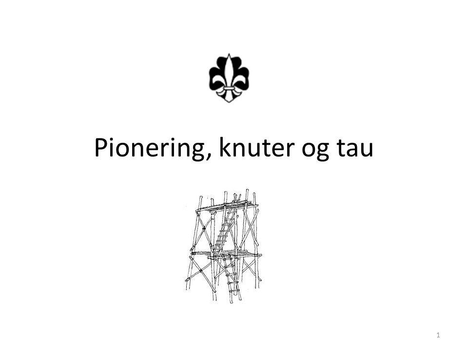 Pionering, knuter og tau 1