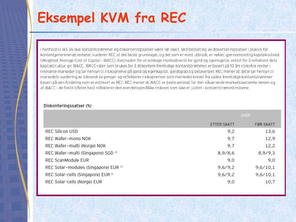 Eksempel KVM fra REC