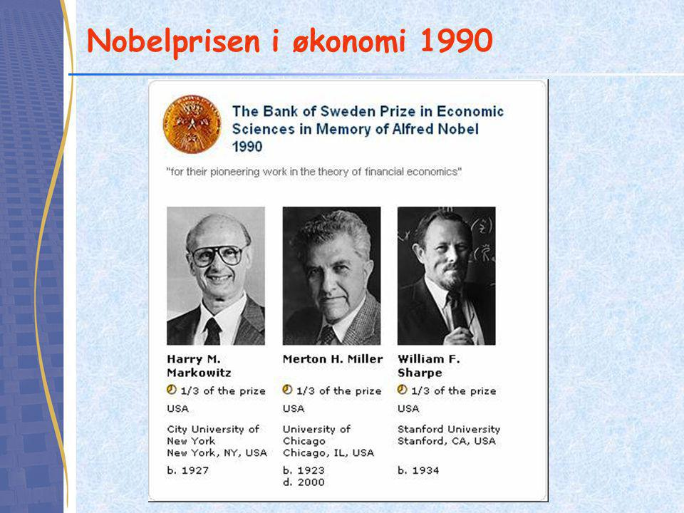 Nobelprisen i økonomi 1990