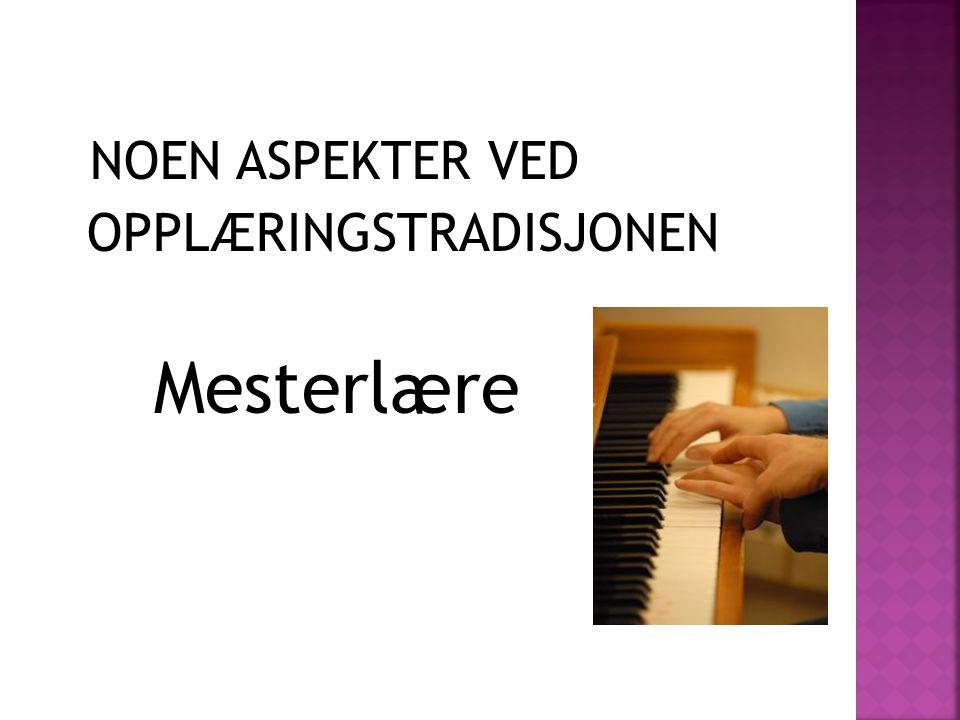« Å si noe om å erfare musikk er å forene to uforenlige størrelser, ja det er virkelig som å danse om arkitektur « (Andersson 2006)