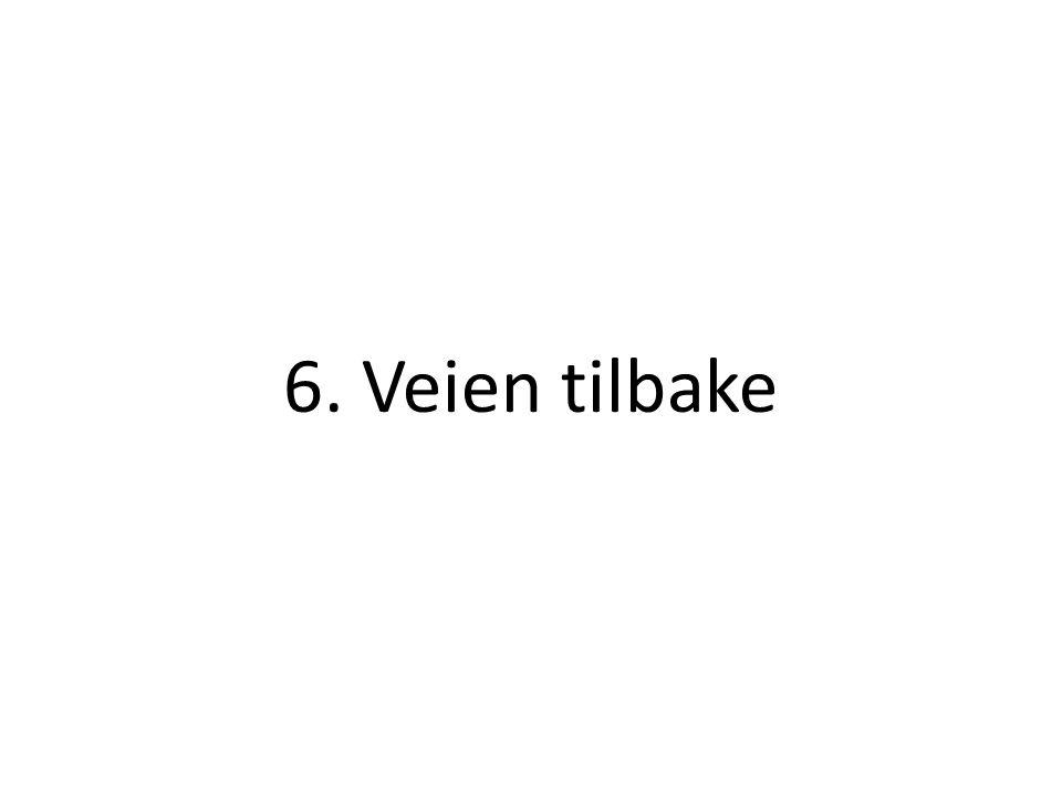 6. Veien tilbake