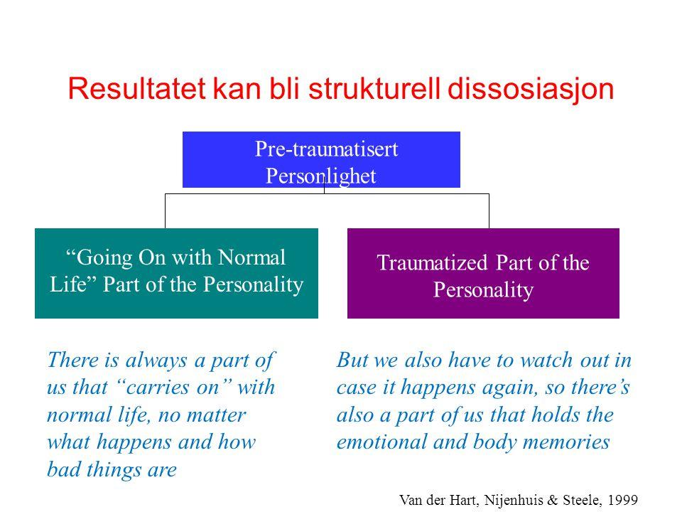 Å regulere egne reaksjoner/følelser • Det er vanskelig å forholde seg rolig når vi skal håndtere traumerelatert utagering.