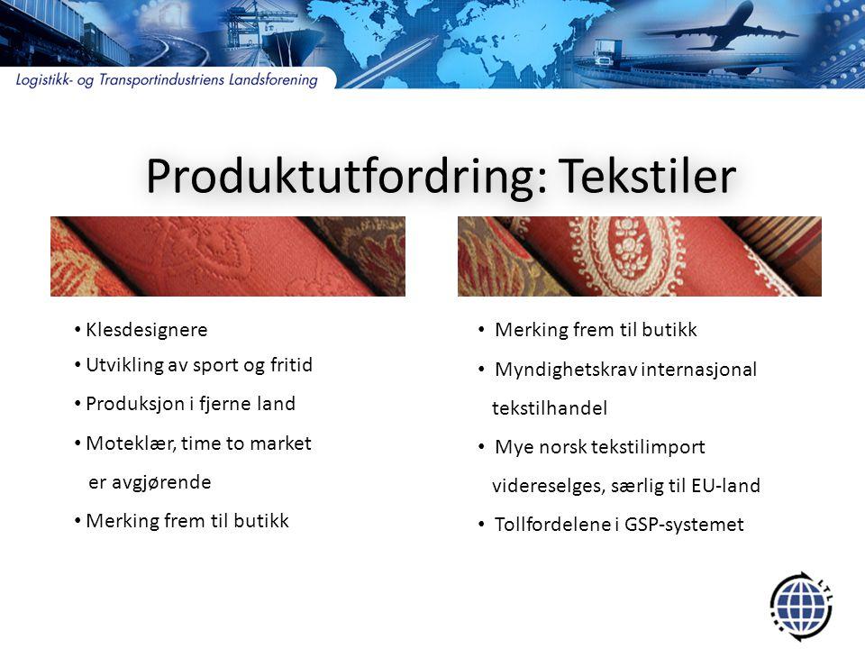 Farmasøytiske produkter  I transportsammenheng - matvarer  Kritisk.