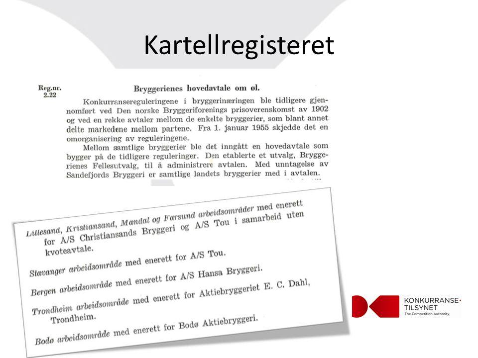 Kartellregisteret