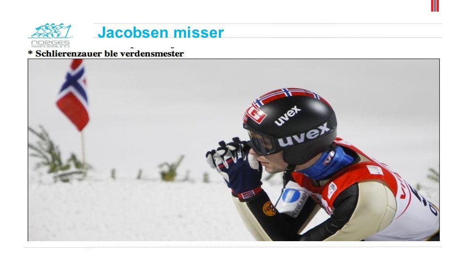 Jacobsen misser