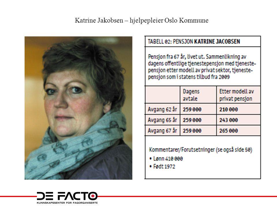 Katrine Jakobsen – hjelpepleier Oslo Kommune
