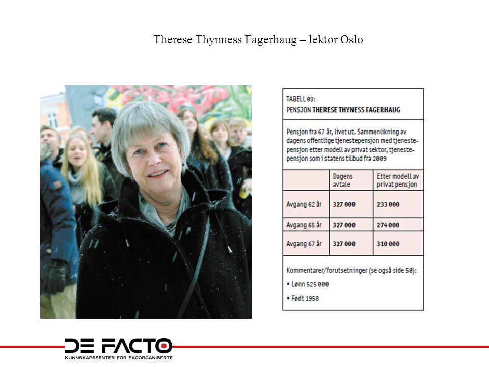 Therese Thynness Fagerhaug – lektor Oslo