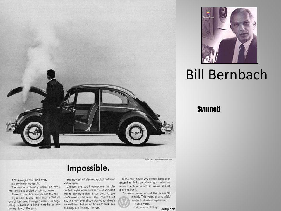 Presentasjon av Synergi Rf 46 Bill Bernbach Sympati